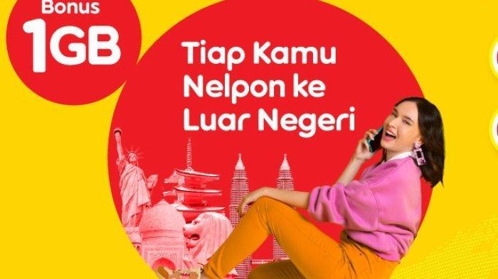 Paket Internet Murah Indosat, Nelpon Keluar Negeri Dapat Bonus Kuota