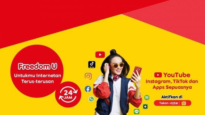 Paket Internet Murah Indosat, Akses Aplikasi Streaming Mulai Rp 3.800 Pakai Freedom Apps