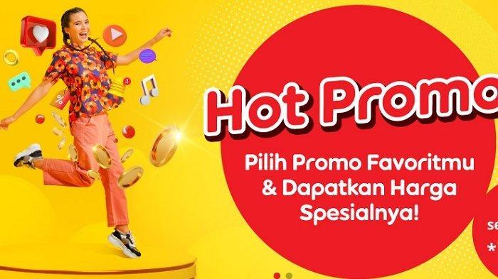 Paket internet murah dari Indosat di antaranya program Hot Promo.