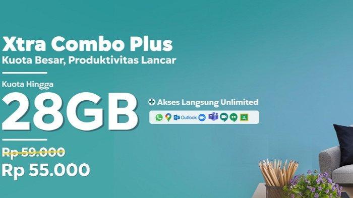 Cara Dapat Paket Internet Murah XL, Xtra Combo Plus Bebas Pilih Bonus Kuota Aplikasi Beli Paketnya
