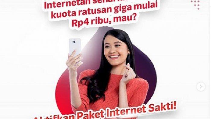 Paket Internet Murah Telkomsel, Internetan Seharian Mulai Rp 4.000 Pakai Paket Internet Sakti