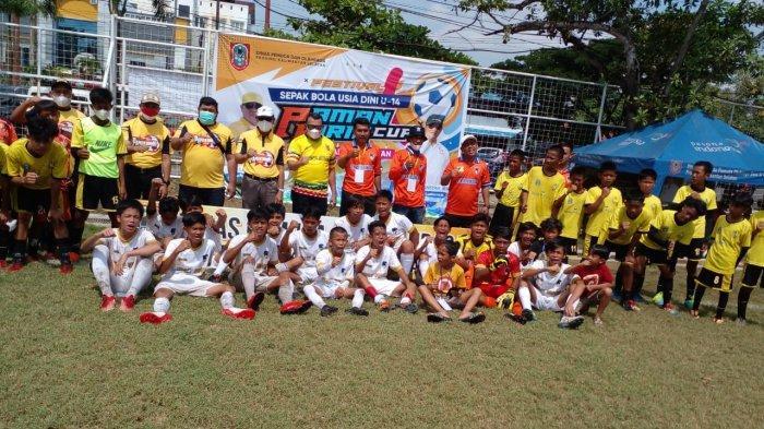 24 Kesebelasan Beradu di Paman Birin Cup 2021, Cari Bibit Pesebakbola Muda