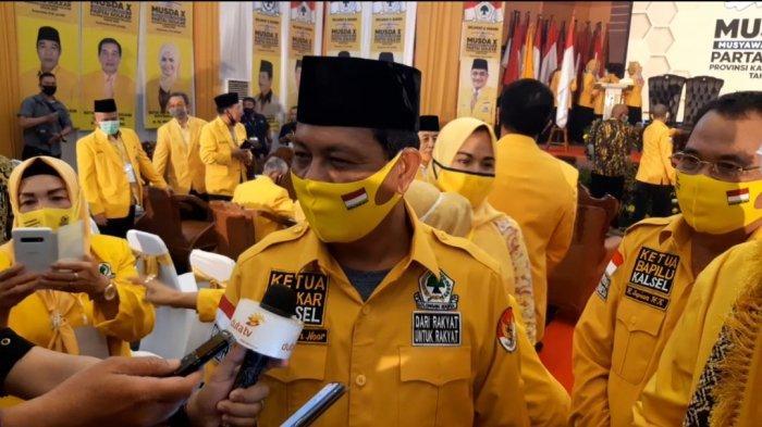 Paman BirinKembali Nahkodai DPD Golkar Kalsel Masa Bakti 2020-2025,Ini Katanya Seusai Musda