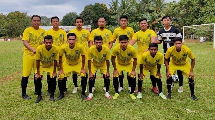 Paman FC Kabupaten Balangan Juara Mini Turnamen Batu Agung Cup 2021