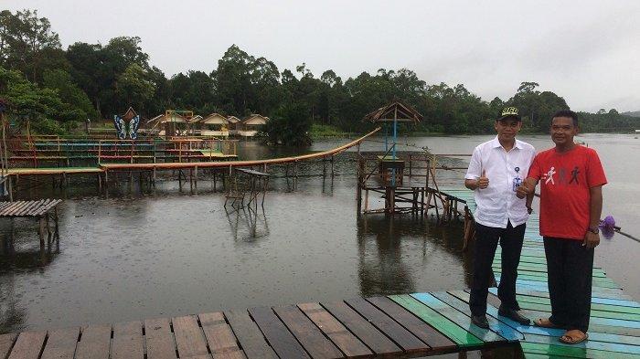 Pambakal Tambah Tiga Lokasi Selfie di Teluk Tamiyang Mandikapau