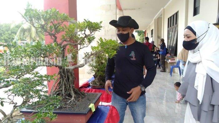Komunitas Bonsai Gelar Pameran di Batulicin Irigasi Kabupaten Tanbu