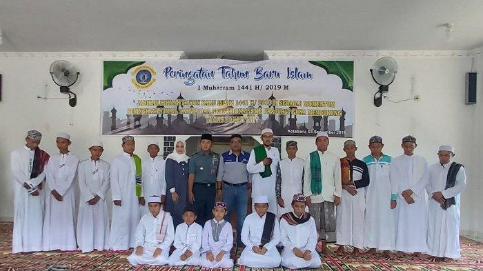 Tingkatkan Ketaqwaan dan Keimanan, Lanal Kotabaru Peringati 1 Muharram 1441 Hijriah
