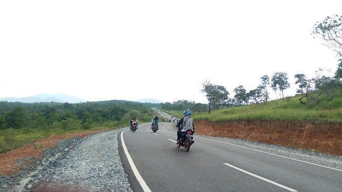Selain Hutan yang Alami, di Kampung Sungaitabuk Juga Ada Trek Gowes yang Mengesankan