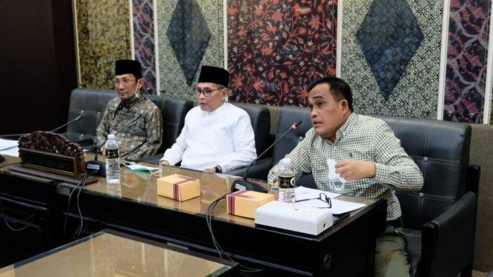 Pansus III Dan Pansus IV DPRD Kalsel Perdalam Materi Pembahasan LKPj Gubernur Kalsel TA 2020 Ke DPRD Provinsi Jatim
