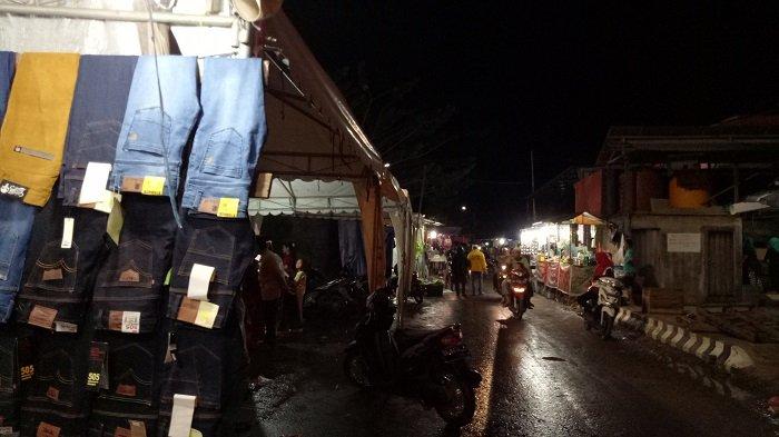 Begini Suasana Usai Mappanretasi, Lokasi Pesta Pantai Pagatan Ternyata Masih Ramai Pedagang Jualan