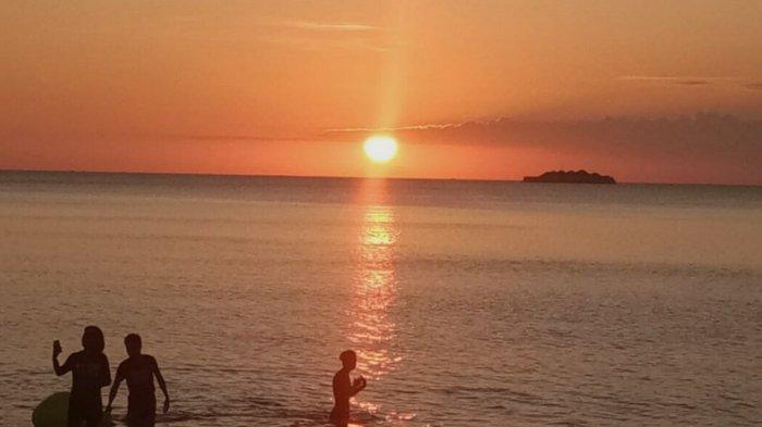 Pesona Pantai Teluk Tamiang Kotabaru, Tersedia Fasilitas Paket Menginap dan Makan