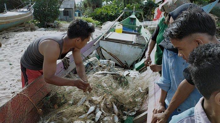 Wisata Pantai Ujung Pandaran Kembali Dibuka, Jualan Tangkapan Ikan Nelayan Setempat Makin Laku