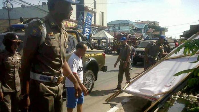 Reaksi Ketua Partai Gerindra Saat Ada Perusakan APK yang Sudah Dilaporkan ke Bawaslu Kotabaru