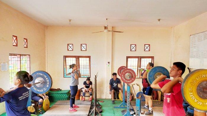 Persiapan Porprov, Atlet Angkat Besi di Banjarmasin Intensifkan Latihan