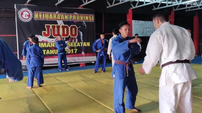 Hadapi Popda Kalsel 2021, Tim Judo Banjarmasin Gelar Seleksi Atlet