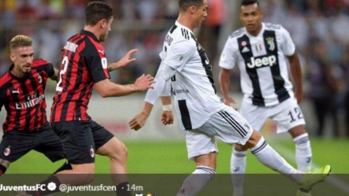 Juventus Juara Piala Super Italia, Cristiano Ronaldo Selalu Konsisten Raihan Piala Super untuk Klub