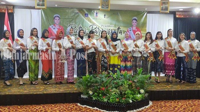 Finalis Putri Pariwisata Kalsel Akan Tampilkan Kuriding Hingga Panting di Ajang Pembuktian Bakat