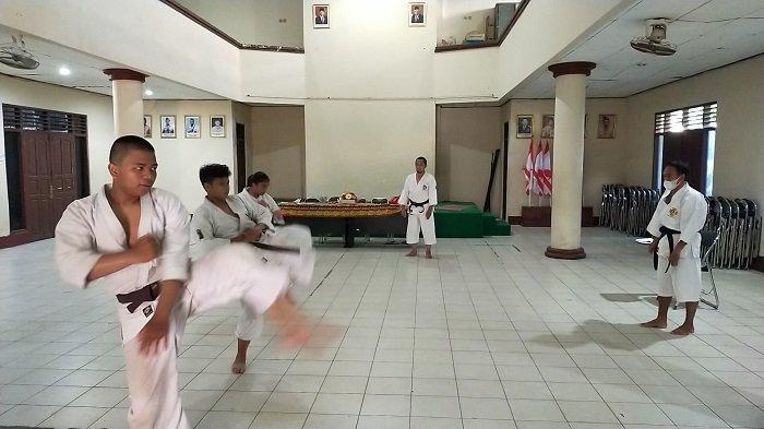 Kenshi Muda Banjarmasin Genjot Latihan, Incar Medali Popda Kalsel 2021