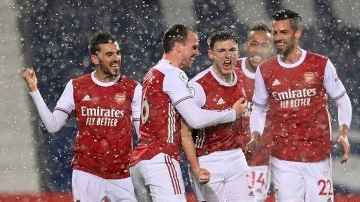 LINK Nonton TV Online Arsenal vs Everton Liga Inggris Malam Ini Live Streaming Mola TV Jam 02.00 WIB