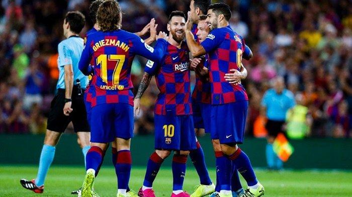LINK Live Streaming TV Online Barcelona vs Slavia Praha di Vidio.com, Liga Champions Live SCTV