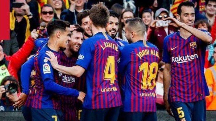 Jadwal Siaran Langsung Liga Spanyol 2019 Pekan 39, Barcelona vs Atletico Madrid, Real Madrid Main