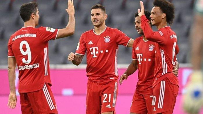 Link Live Streaming Liga Champions Lazio Vs Bayern Muenchen, Awasi Lewandowski