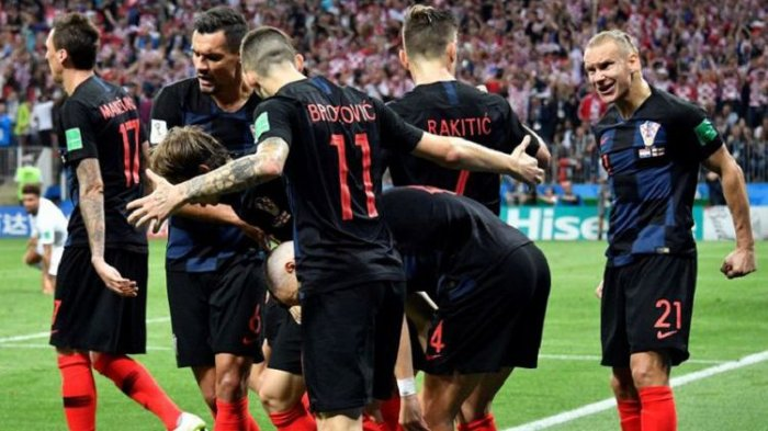 Kroasia Melangkah ke Final Piala Dunia 2018 dengan Peringkat Terendah Versi FIFA