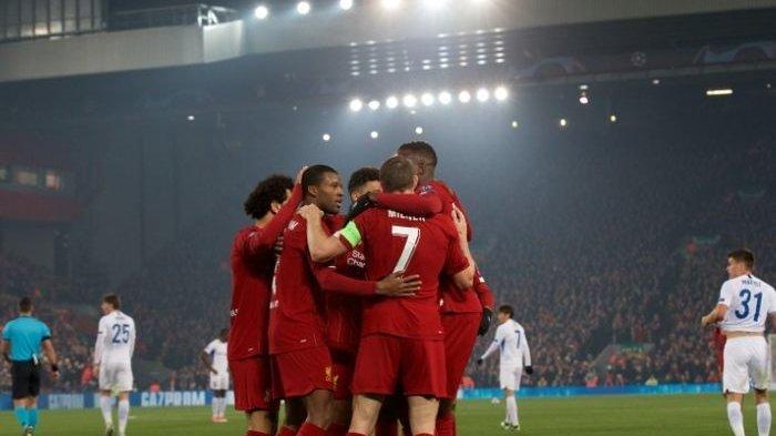 Jadwal Siaran Langsung Liga Champion di SCTV Malam ini, Salzburg vs Liverpool, Inter vs Barcelona