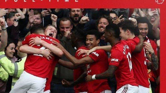 Hasil Manchester United vs Leicester City di Liga Inggris, Skor Babak Pertama 1-0, Gol Penalti MU