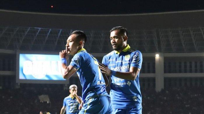 Hasil Akhir Persib vs PSS Sleman : Skor Akhir 2-1, Maung Bandung di Puncak Klasemen Liga 1 2020