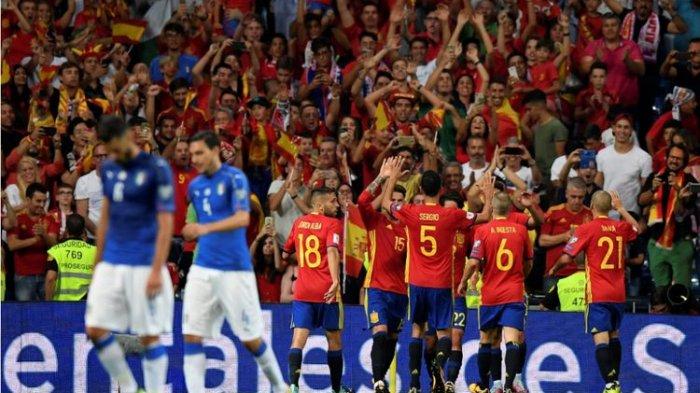 Jadwal Semifinal UEFA Nations League, Ulangan Final Euro 2012 Timnas Italia vs Spanyol
