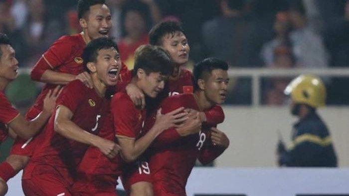 Hasil Piala Asia U-23 2020, Timnas U-23 Vietnam Lolos ke Final Usai Pesta Gol ke Gawang Thailand