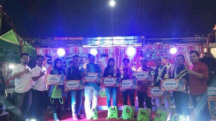 Hapeworld Carnaval 2019, Digelar Bazar dan Kontes Dangdut