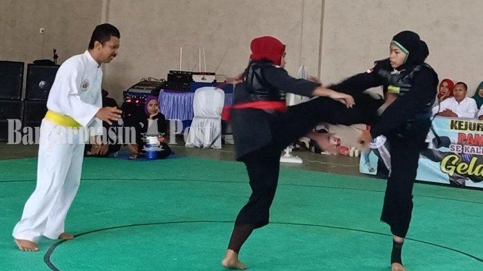 Hindari Corona, Latihan Pesilat PON Disatukan di SKB Mulawarman Banjarmasin