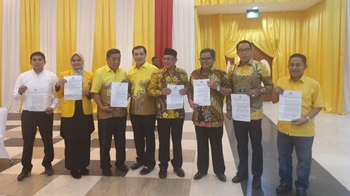 Pilkada Banjarbaru 2020: Pasangan Aditya-Iwan Dapat Surat Dukungan dari DPP Golkar