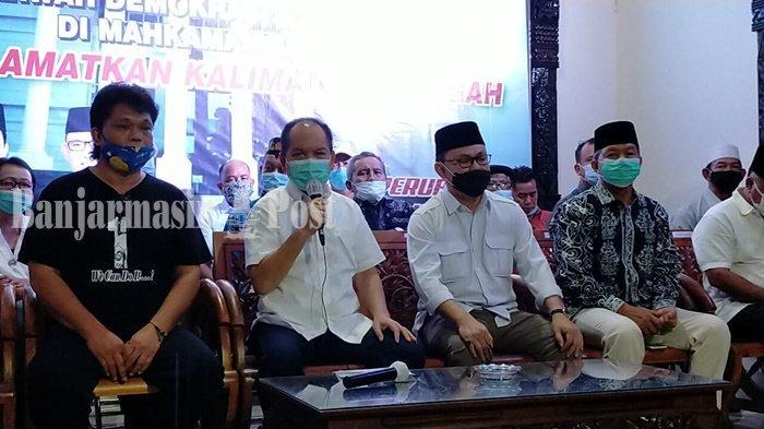 Paslon Ben-Ujang Sampaikan Gugatan ke Mahkamah Konstitusi, Tolak Hasil Pilgub Kalteng