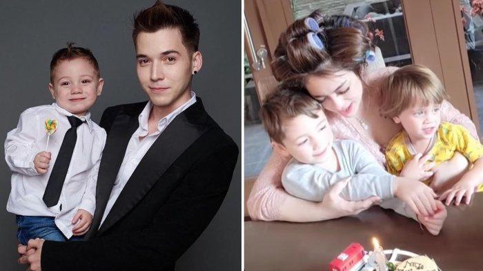 Tak Rayakan Ultah Lucio Bareng Celine Evangelista, Stefan William Tulis Ucapan Cinta Buat Sang Anak