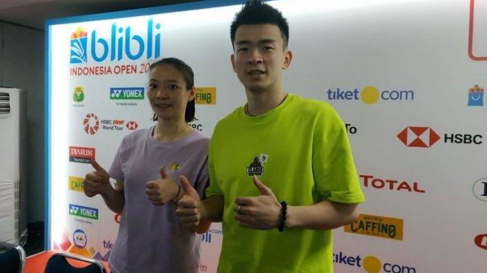 Hasil Indonesia Open 2019, Pasangan China Ini Kali Pertama Juara Raih Gelar Ganda Campuran