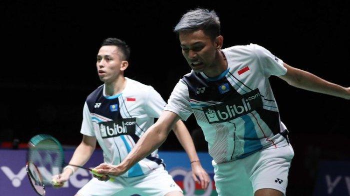 Semifinal Malaysia Masters 2020, Pengalaman Pahit di Gim Kedua bagi Fajar/Rian atas Wakil Korsel