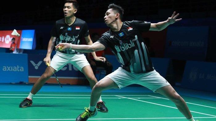 Hasil Semifinal Malaysia Open 2019 : Fajar/Rian & Jonatan Christie Gagal ke Final