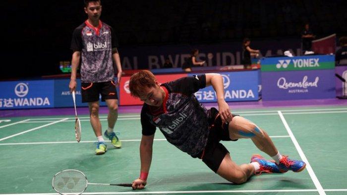 SEDANG BERLANGSUNG, Live Streaming Malaysia Masters 2019 Kamis (17/1) Ada Marcus/Kevin & Jojo Main