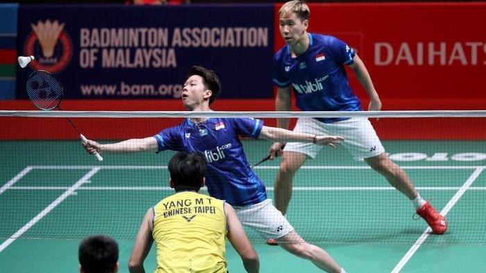 SEKARANG Jojo Main! Live Streaming Indonesia Masters Link TVRI & UseeTV, Marcus/Kevin Sesaat Lagi