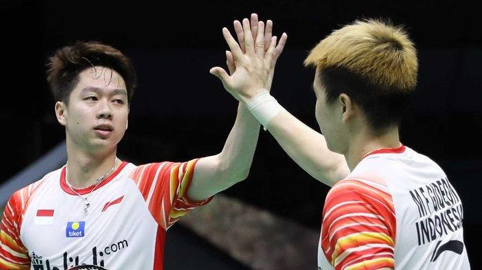 SESAAT LAGI Marcus/Kevin Main! Live Streaming TVRI French Open 2019, Link TV Online BWF Prancis Open