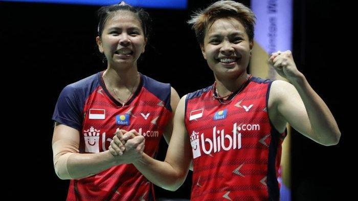 Rekap Hasil Badminton Final Indonesia Masters 2020, Marcus/Kevin & Greysia/Apriyani Juara, Ginting?