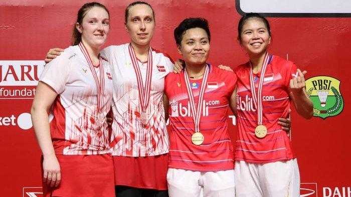 Final Indonesia Masters 2020 - Setelah Juara, Greysia/Apriyani : Kami Lelah dan Kepala Sangat Pusing