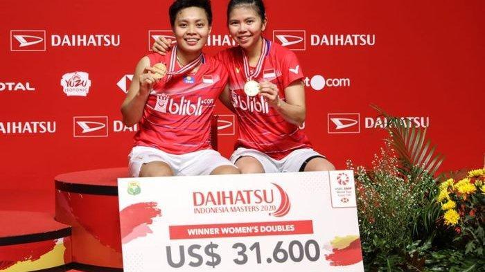 Hasil Akhir Indonesia Masters 2020 - Marcus/Kevin, Greysia/Apriyani, Anthony Ginting Sabet Juara