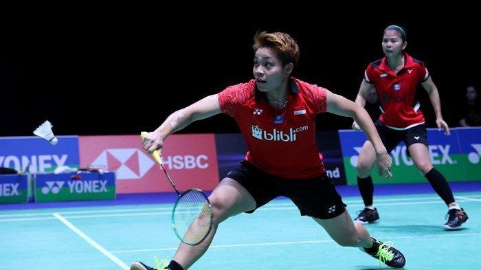 SEKARANG Greysia/Apriyani Main, Link Streaming Badminton Olimpiade Tokyo, Live TVRI & Indosiar