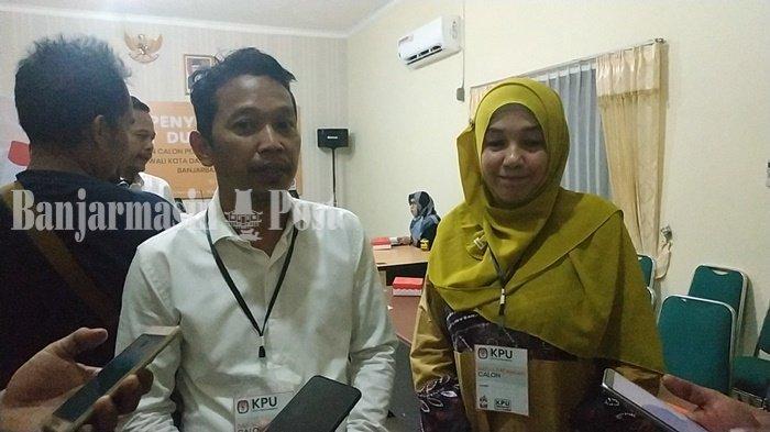 Pasangan Independen Hormati Keputusan Aditya Mundur dari Pilwali Banjarbaru