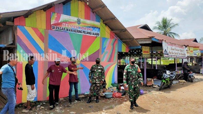 Percantik Bangunan, Berharap Pasar Malam Alabio Kabupaten HSU Jadi Lebih Ramai