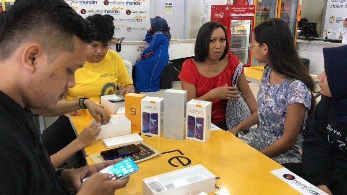 Pasca PSBB di Kota Banjarmasin, Penjualan Smartphone Mulai Meningkat